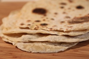tortillas SANS lait