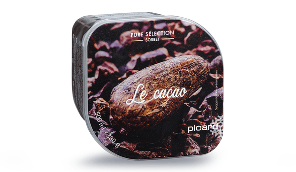 Sorbet cacao, Picard Surgelés